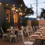 Dinner under the stars at Little Beast