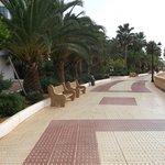 Lovely walk from hotel into Santa Eulalia