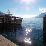 From Malcesine across the lake looking towards Gardone Riviera