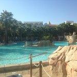 Poolbereich Innenanlage Hotel