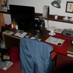 The desk/writing table