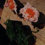 See weed sushi and krab