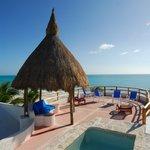 Mariposa private terrace
