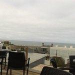 Terraza exterior con vista al mar