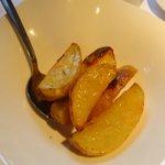 Batatas que acompanham fondue