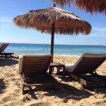 The most perfect beach at Costa Costa, Lassi
