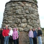 Our group at Culloden Battlefield