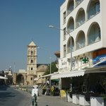 hotel and St Lazarus Church