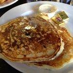 Coconut Mascarpone Pancakes