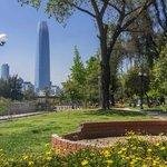 vista do parque uruguai, perto do hotel
