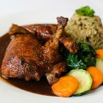 Roasted Duck - Port wine & berry sauce