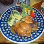 Schlesisches Himmelreich - Silesian heaven main dish