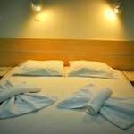 Double comfortable beds