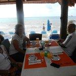 Vista al mar desde el comedor/desayunador