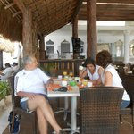 comedor/desayunador en la playa
