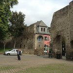 Old town walls in Andernach