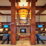 Our warm and inviting Lobby at Park City Marriott