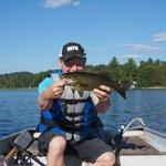 White Birtches Oxtongue lake Bass