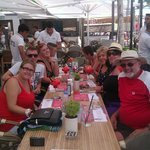 fun in faros with my April and her thomas cook Family