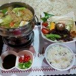 Delicious vegetarian hot pot prepared by Bokelai NT$250