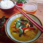 Green River Fish Curry...yum!