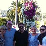 Friends loving Santa Margherita