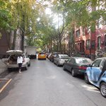 One of the more affluent streets in Brooklyn