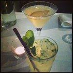 Cocktails - the mojito was delicious!!