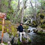 """Cascada El Salto........cercano al Lago Grey"""""""