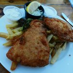 fish & chips, quite nice!