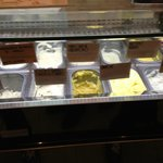 Real gelato - no neon colors or giant stacks