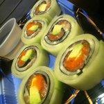 salmon cucumber wrap