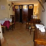 part of the dining area