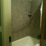 Room 318 - shower/bath