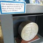 Medallion of Mandela