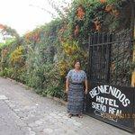 entrance with muy simpatico senora