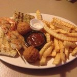 Grilled Shrimp & Grouper