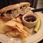 Awesome French Dip with real au jus