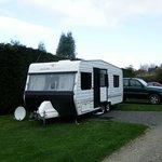 Our BIG Caravan fits no problem