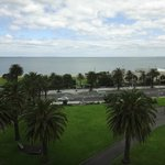 St Kilda beach is just opposite!