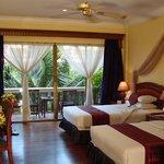Deluxe Twin Room at Apsara Angkor Resort