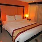 кровать в номере Deluxe