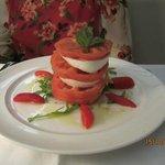 Caprese Salad at Edode