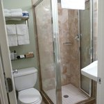 bathroom: small but clean