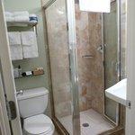 bathroom: small but clean