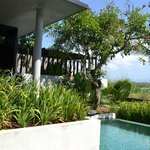 mountain pool villa