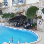 Cave bar and pool