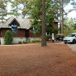 Eine Lodge