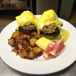 Crab Cakes Benedicts...a brunch favorite