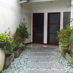 Entrance from Roof Terrace Rama Sita Room